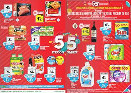 Catalogue 55ème anniversaire Auchan