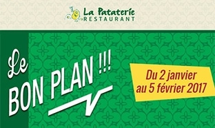 Coupon de réduction La Pataterie