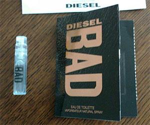 Photo témoin de l'échantillon Disel Bad
