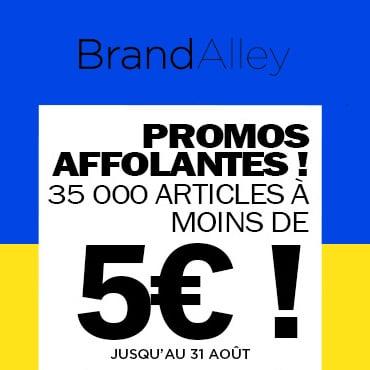 Déstockage Brandalley : 35'000 articles de luxe à moins de 5€