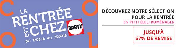 Promotions Darty : Jusqu'à 67% de remise + 5€ offerts