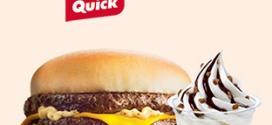 Avis Quick : Une boisson chaude ou un dessert offert