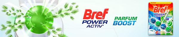 Testez Bref WC Power Activ' Parfum Boost