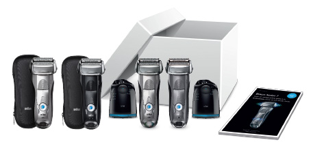 500 rasoirs Braun Series 7 gratuits à tester