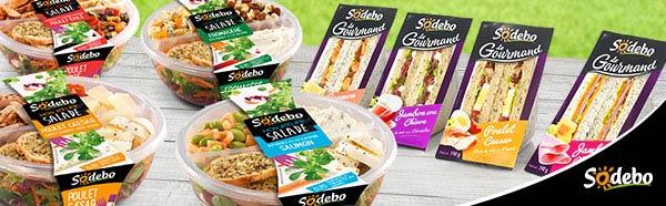 Testez gratuitement les nouvelles recettes Sodebo avec Sampleo