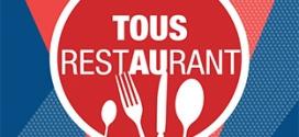 Tous au restaurant 2016 : Un menu acheté = un menu gratuit