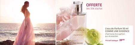 Parfum Yves Rocher offert