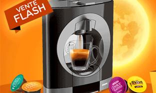 Machines à café Oblo de Dolce Gusto offertes