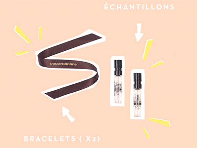 échantillons gratuits de parfums : échantillons One Million et Lady Million