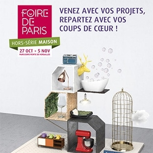 foire de paris maison automne 2017 invitations gratuites. Black Bedroom Furniture Sets. Home Design Ideas