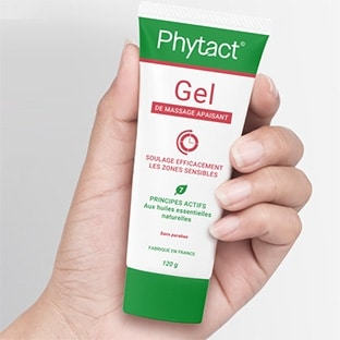 Échantillons gratuits du gel de massage Apaisant Phytact