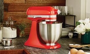 Jeu Elle à table : 6 robots pâtissiers Mini KitchenAid à gagner