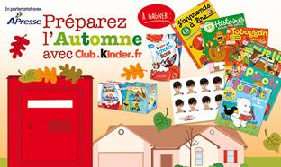 Jeu Kinder : 300 abonnements à un magazine pour enfants …