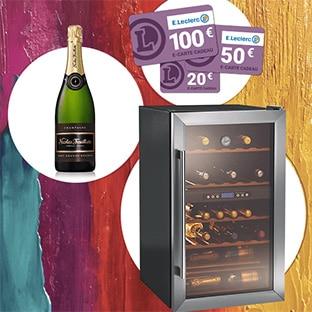 jeu leclerc foire aux vins 207 cartes cadeaux 5 gros lots. Black Bedroom Furniture Sets. Home Design Ideas