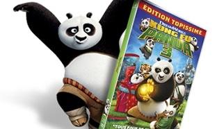 Jeu Isla Délice : 500 DVD Kung Fu Panda 3 à gagner