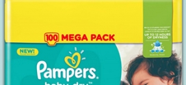 Promo Couches Pampers chez Carrefour : 10,59€ le Mega pack