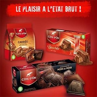 Chocolats Côte d'Or remboursés jusqu'à 65% avec Shopmium