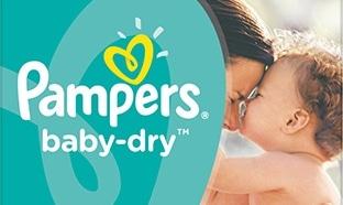 Promo couches Pampers chez Auchan : -50% + 2€ de réduction