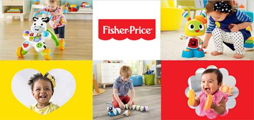 Devenez testeurs de jouets Fisher-Price