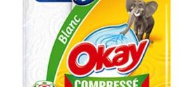Test d'essuie-tout compressé Okay : 48'000 rouleaux gratuits