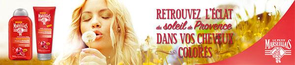 Testez gratuitement la gamme Éclat Couleur Le Petit Marseillais