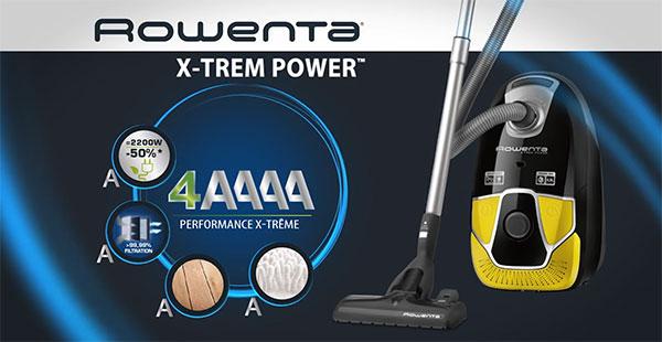Test gratuit de l'aspirateur X-Trem Power avec sac