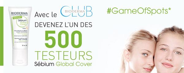 Testez gratuitement le Sébium Global Cover de Bioderma