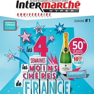 Anniversaire Intermarché 2017 : Jeu concours et promotions