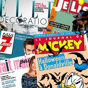 Abonnements magazines moins chers : Promos + 30% de réduction