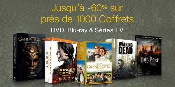 Coffrets DVD / Blu-ray à petits prix : Jusqu'à 60% de remise
