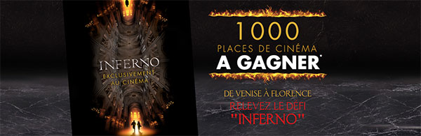 Gagnez votre place de cinéma au jeu Inferno avec San Marco
