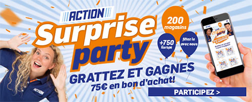 Instants gagnants Action