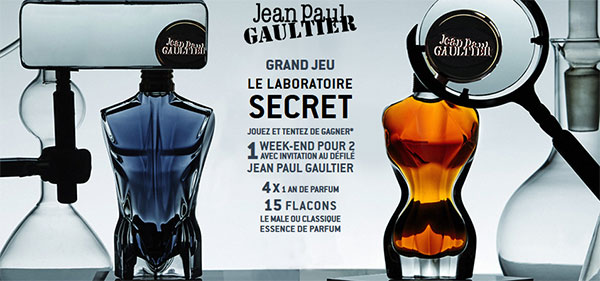 Cadeaux Jean-Paul Gaultier à gagner