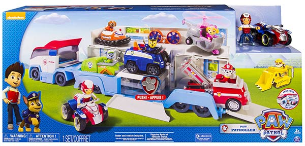 Camion Paw Patrol moins cher
