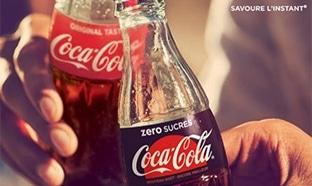 Test du Coca-Cola zero sucres : 72'000 canettes gratuits