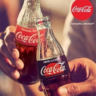 Test du Coca-Cola zero sucres : 72'000 canettes gratuites