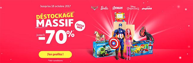 Auchan offre jusqu'à 70% de réduction sur les jouets de Noël 2017