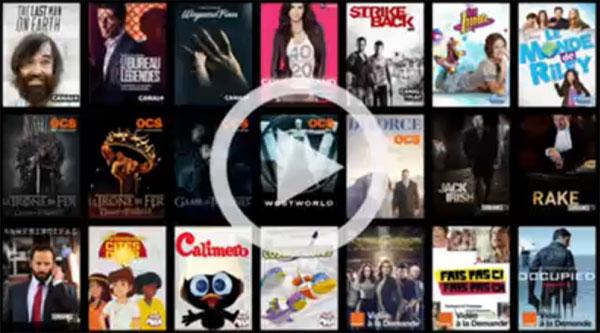 Le Marathon d'Orange : Accès gratuit à 500 épisodes de 80 séries