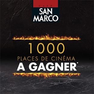 Jeu San Marco : 1000 places de cinéma à gagner