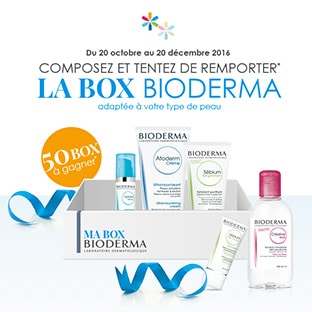 Jeu Bioderma : 50 box de soins adaptés à votre peau à gagner