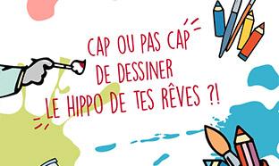 Jeu Hippopotamus : 1 dessin = 1 peluche gratuite