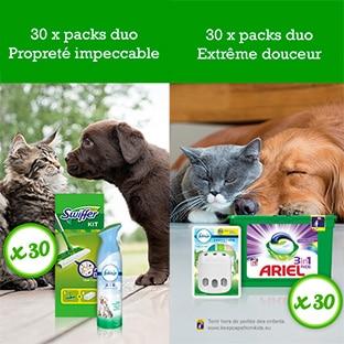 Jeu Envie de Plus : 60 kits «spécial animaux» à gagner