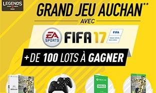 Auchan : 103 cadeaux à gagner (console Xbox, Fifa 17 offerts...)