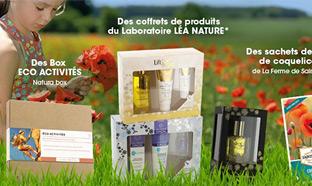 Jeu Léa Nature : 100 cadeaux à gagner (coffrets beauté...)