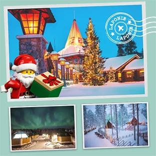 Jeu LEGO de Noël : 40 boîtes et séjour en Laponie à remporter