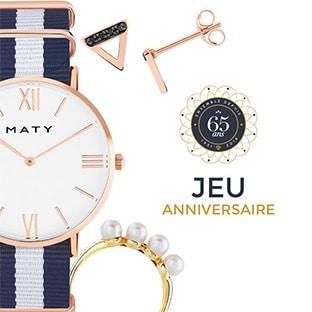 Jeu Maty 100% gagnant : Bijoux, chèques cadeaux et bons plans