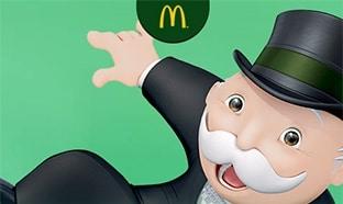 Jeu Monopoly McDo 2020 : Vignettes gratuites et lots à gagner