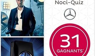 Jeu Nocibé Noci-Quiz : 33 parfums Mercedes-Benz à gagner