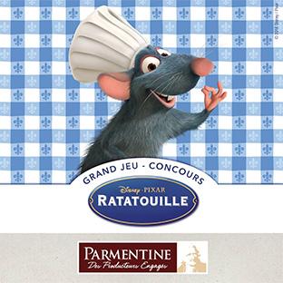 Jeu Disney Ratatouille avec Parmentine : 156 cadeaux à gagner