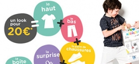Gémo KidiLook : Tenue enfant complète + cadeau pour 20€